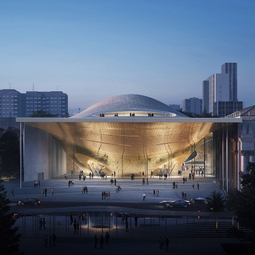 Zaha Hadid Architects Is Building a Futuristic Concert Hall in Russia