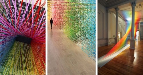 10 Avant-Garde Artists Whose Rainbow Art Installations Will Mesmerize You