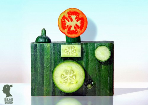Everyday Foods Transformed Into Appealing Sculptures