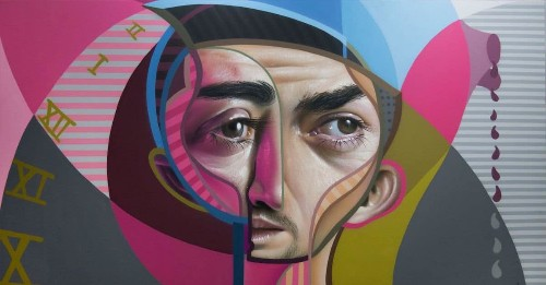 "Street Artist's ""Neo Post Cubism"" Graffiti Combines Cubism with Realism"