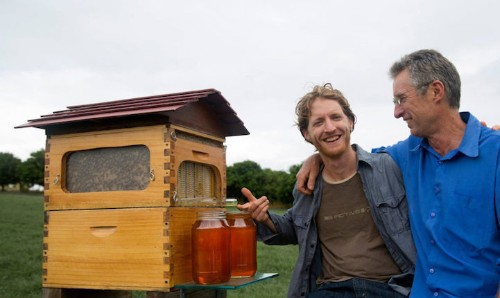 "Father and Son's Revolutionary ""Honey On Tap"" Beehive Design Raises $1 Million Dollars in a Day"