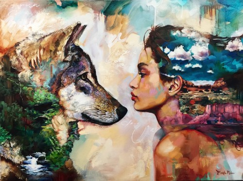 Interview: 16-Year-Old Artist Dimitra Milan Paints Her Wildest Dreams