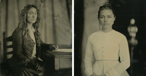 Photographer Captures the Cast of 'Little Women' in Traditional Wet Plate Portraits