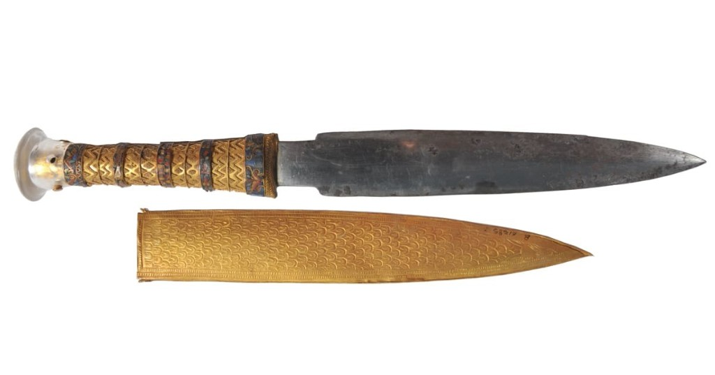 Researchers Discover King Tut's Dagger Was Forged From a Meteorite