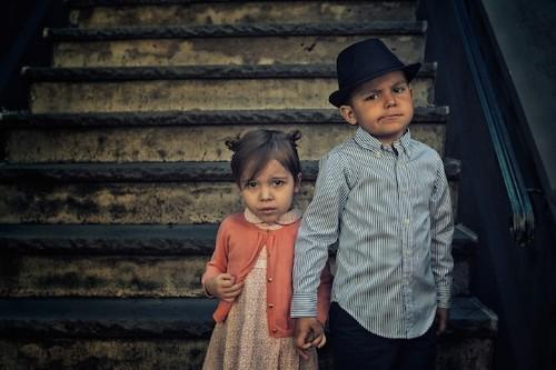 Photographer Captures the Spirit of Different Eras Through Portraits of His Children