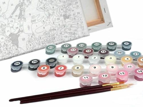 La fascinante historia de los kits de pintar por números