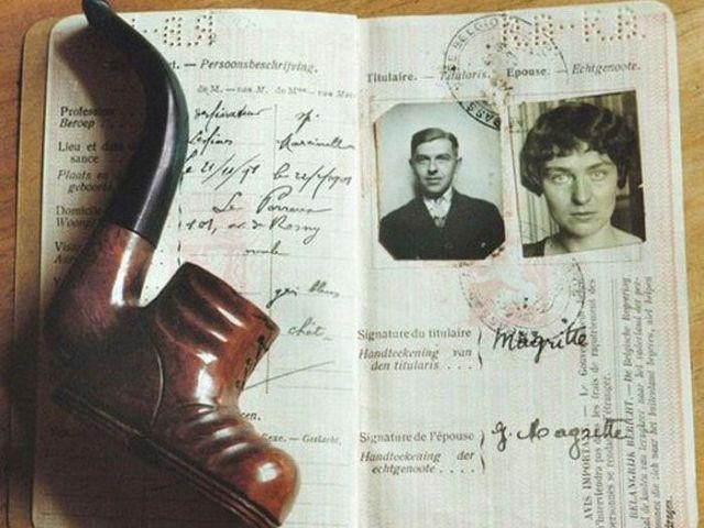 Historic Passports Belonging to Famous People from the Past