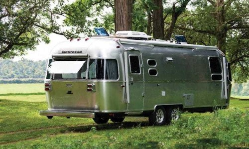 "Airstream Unveils New ""European Inspired"" Trailer Ready for Off-the-Grid Living"