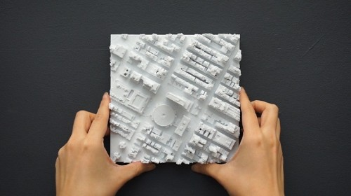"Customizable ""Microscape"" Tiles Celebrate the Beauty of Beloved City Skylines as 3D Puzzle Pieces"