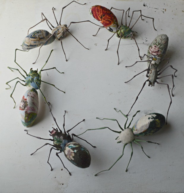 Exclusive Interview: The Beautiful Textile Insects and Animals by Mister Finch