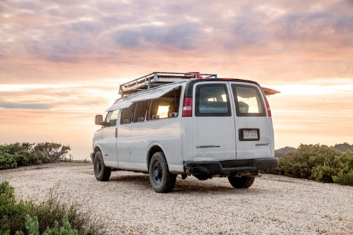 Filmmaker Transforms Rusty Cargo Van into Mobile Studio Allowing Him to Work Anywhere