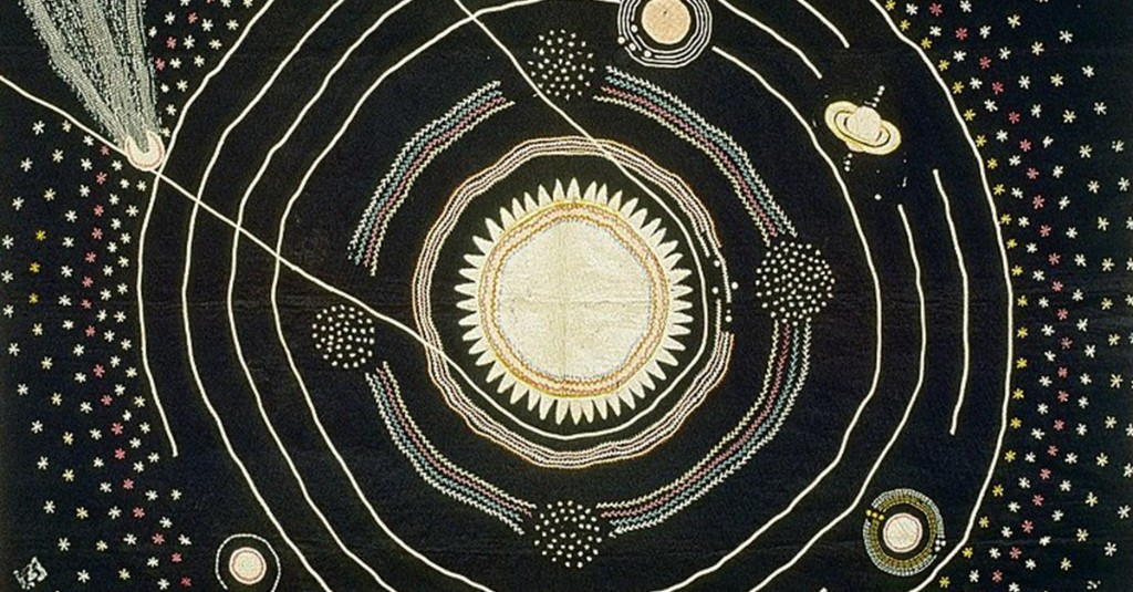 A Teacher in 1876 Handcrafted This Quilt to Help Teach Astronomy to Her Class