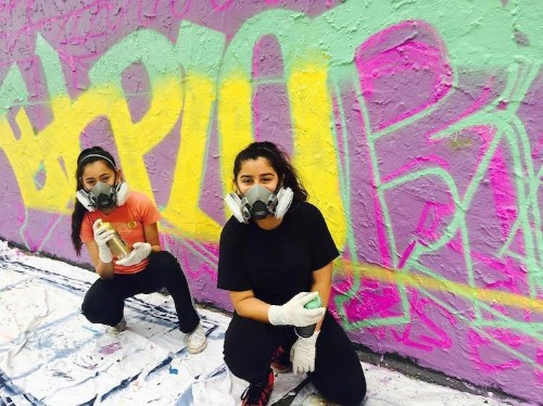 Street Art Camp for Girls Helps Shift the Gender Imbalance One Spray Can at a Time