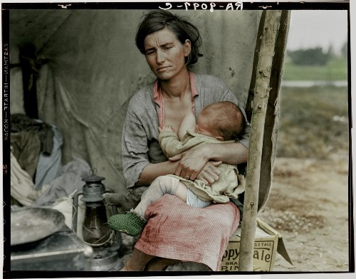 History Comes to Life Through Beautiful Colorized Photographs