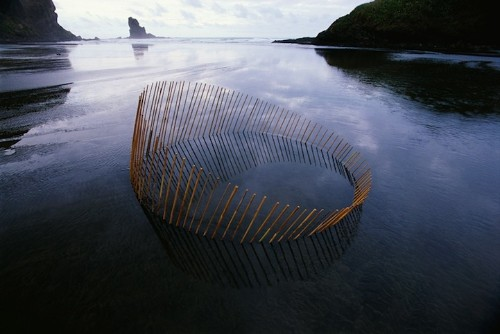 Stunning Land Art Reflections Complete Circles of Life