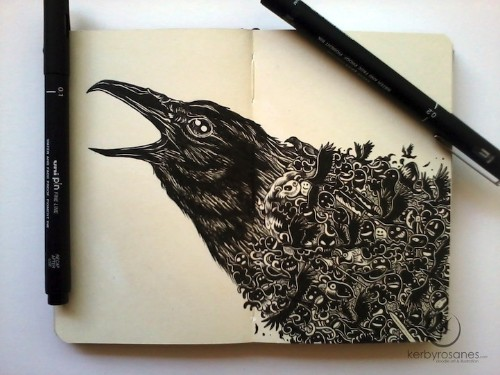 Spectacular Moleskine Doodles Explode with Energy