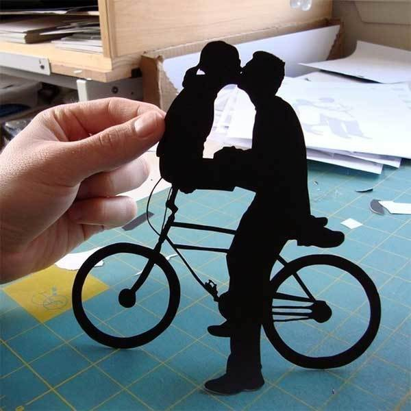 Beautiful Hand-Cut Paper Silhouettes