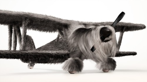 """""""Dogfighters"""" Morph WWII Planes with Furry Animals"""