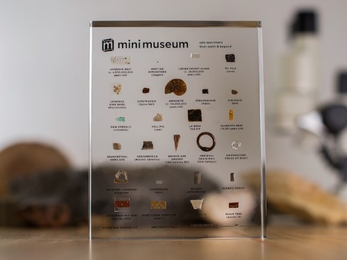 Portable 'Mini Museum 2' Expands Collection of Specimens from Earth and Beyond