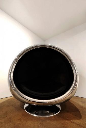 Designer Transforms a Boeing 737 Jet Engine into a Massive Chair