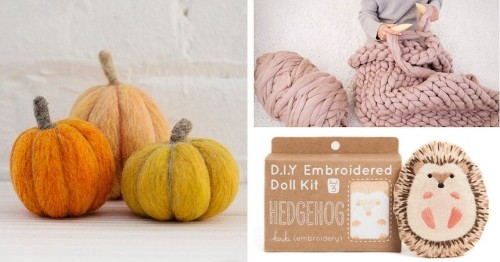 14 Cozy Crafting Kits Guaranteed to Get You in the Mood for Fall