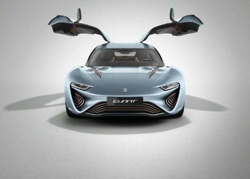 Sleek QUANT E-Sports Sedan is Powered by Salt Water