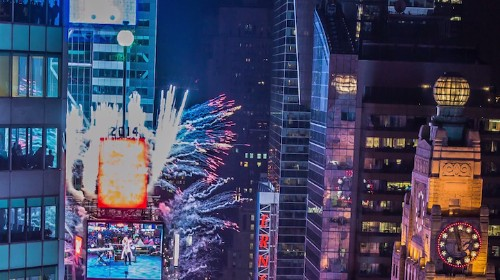 Amazing Timelapse Video of Times Square on New Year's Eve