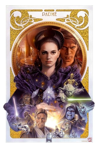 Stunning Star Wars Paintings (20 total)