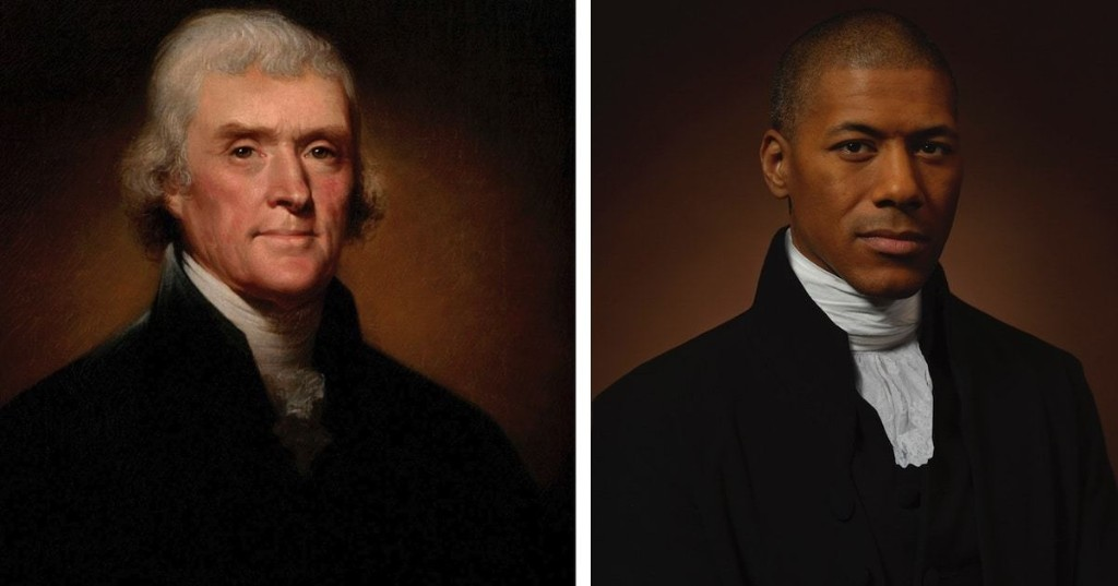 Thomas Jefferson's Presidential Portrait Recreated With His Sixth Great-Grandson