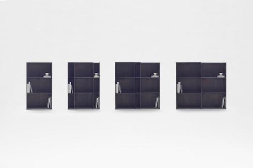Ingenious Nesting Bookshelf Designed to Expand to Any Size You Need