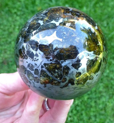 Brilliant Polished Meteorite Offers a Fascinating Look at the Making of Earth