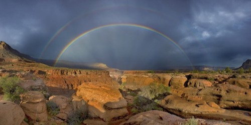 21 Glorious Photos of Double Rainbows Around the World