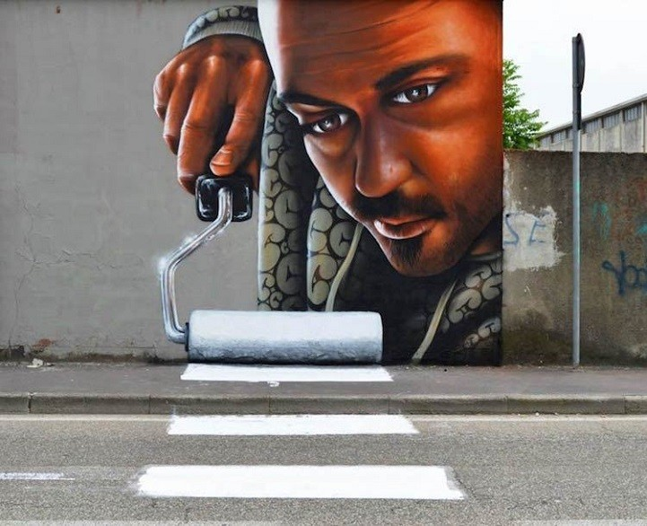 Amusingly Mischievous Murals Cleverly Interact with the Streets