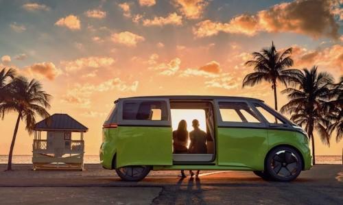 Volkswagen Brings Back the Beloved Microbus as an Electric Vehicle