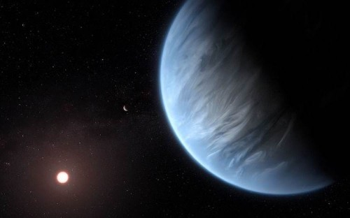 Water Is Discovered in the Atmosphere of a Potentially Habitable Exoplanet