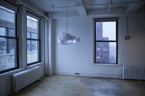 Extraordinary Cloud Lamp Brings a Thunderstorm Inside Your Home