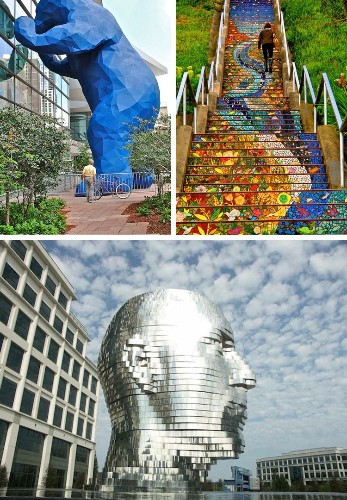 Spectacular Pieces of Public Art in the U.S. and Where to Find it