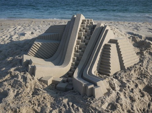 New Awe-Inspiring Sand Castles by Calvin Seibert