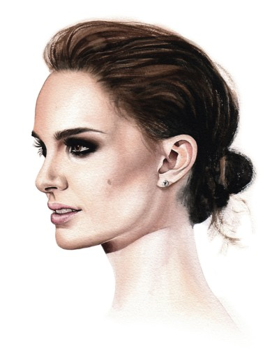 Hollywood Actresses Are Depicted in Breathtakingly Life-like Watercolor Portraits