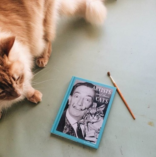 Charming Book Explores the Bond Between 50 Famous Artists and Their Cats