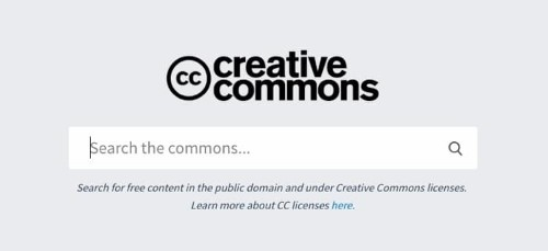 Creative Commons Creates Search Engine with Over 300 Million Free Images