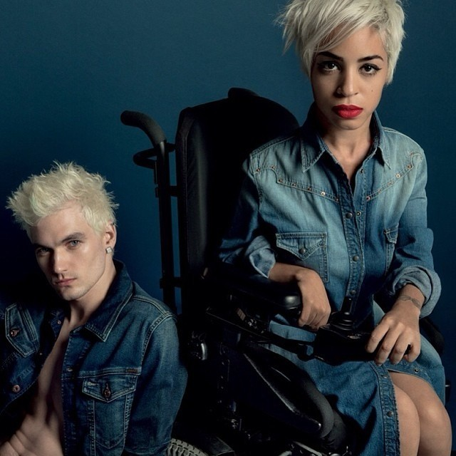 Inspiring Story of How a Young Woman with Muscular Dystrophy Became a Model
