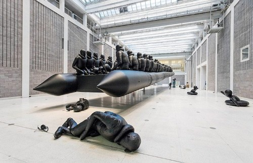 Ai Weiwei Draws Attention to the Refugee Crisis with Powerful New Installation