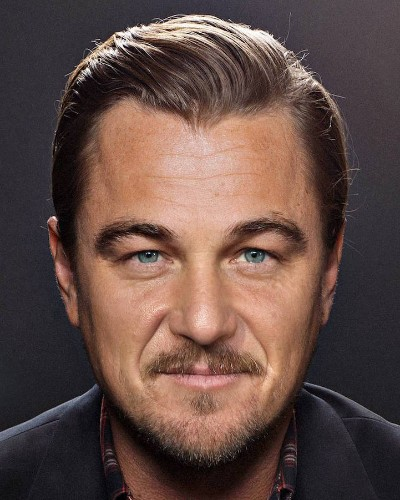 Photoshop Master Seamlessly Combines Two Celebrities into One Famous Face