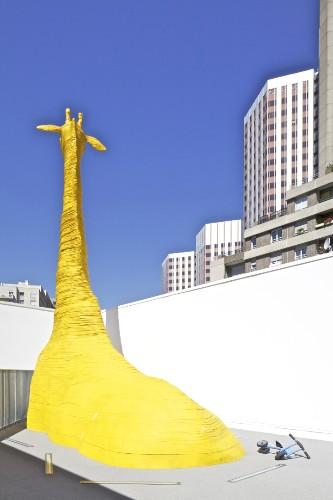 Playful Animal Sculptures Embedded Into Children's Hospital
