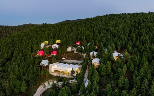 Glamping Pods Let You Spend a Night of Luxury in South Korean Forest
