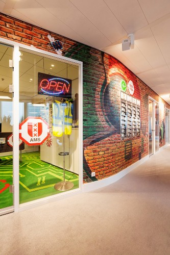 Google's Redesigned Amsterdam Office is Functionally Quirky