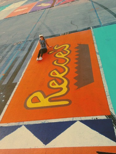 Some High Schools Let Seniors Creatively Paint Their Parking Spots Each Year