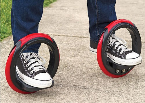 "Revolutionary New ""Skateboard"" Removes The Board Completely"