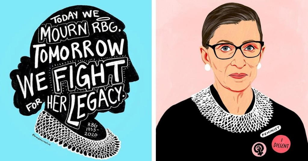 RIP Ruth Bader Ginsburg: People Are Sharing Tributes To the Pioneering Supreme Court Justice